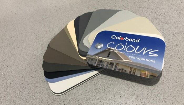 Colorbond swatch Townsville Fence
